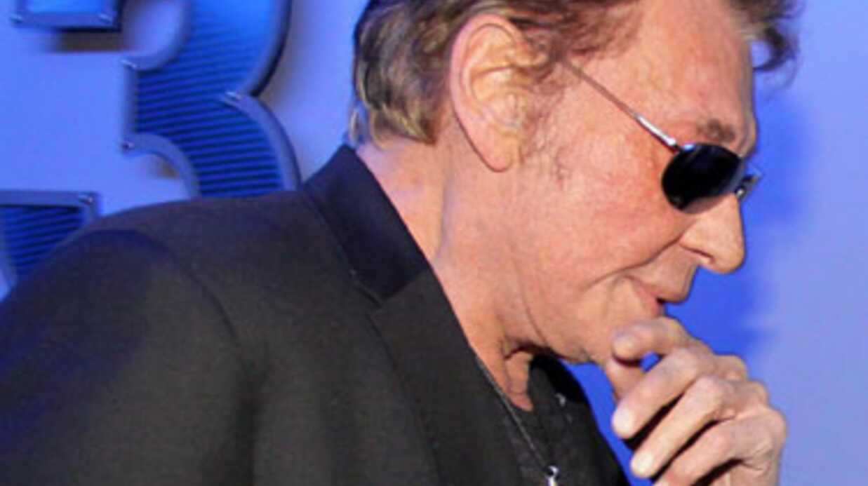 Johnny Hally­day devrait chan­ter dans The Voice