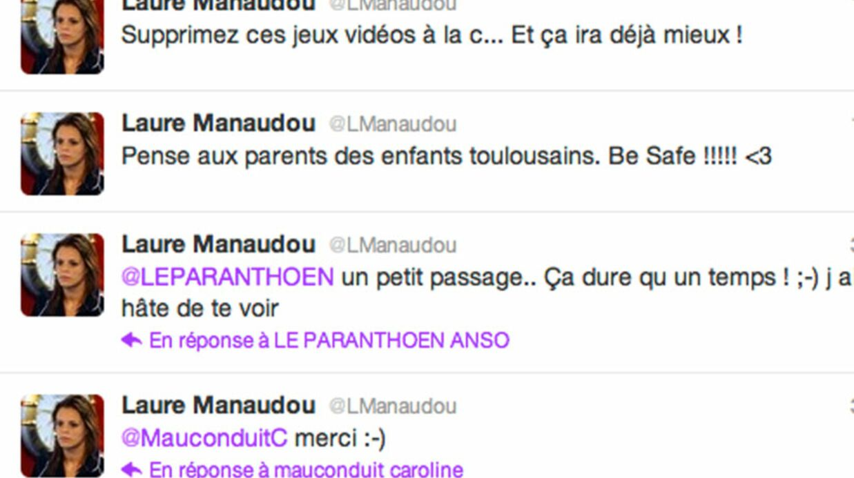 Laure Manaudou: sa terrible maladresse sur Twitter