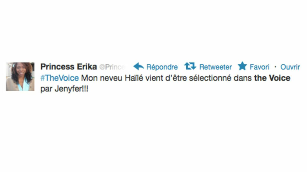 The Voice : Hailé est le neveu de Prin­cess Erika
