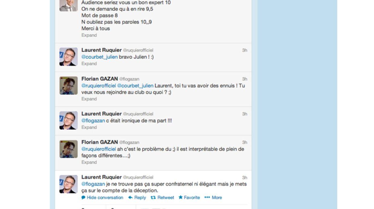 Laurent Ruquier clashe Julien Courbet sur Twitter
