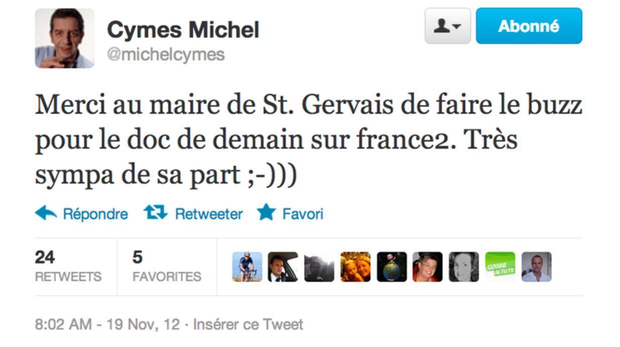 Un maire accuse Michel Cymes de «supercherie» (à tort)