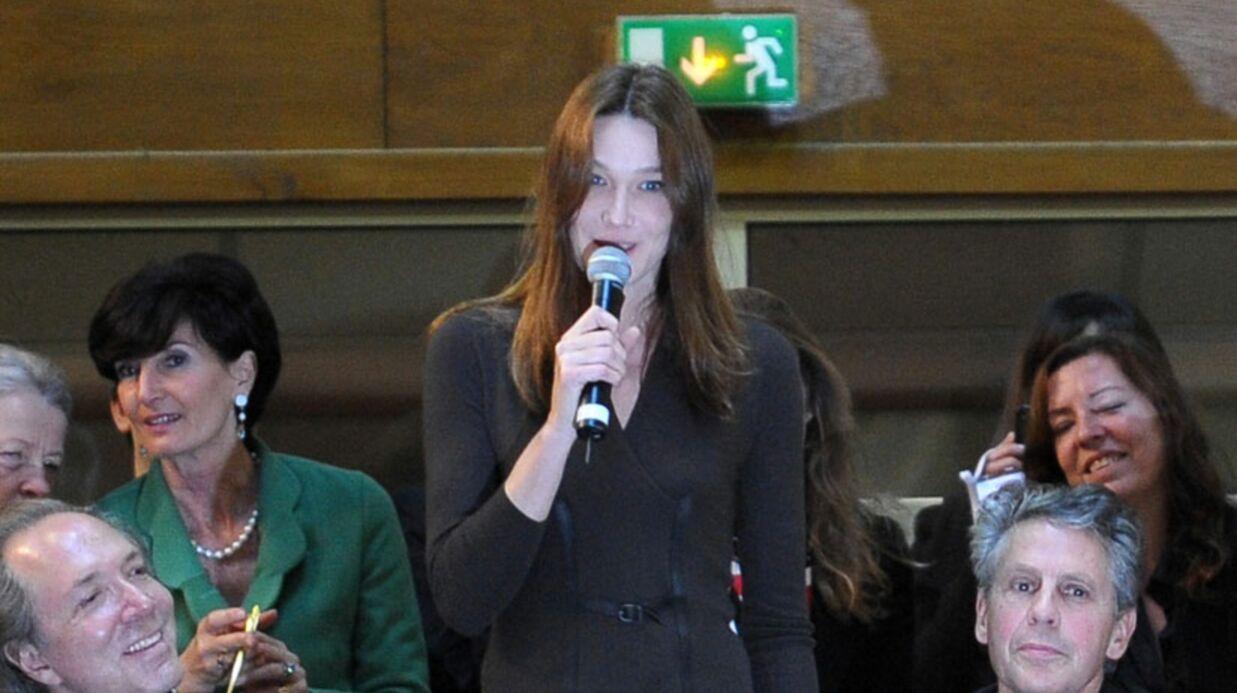 Carla Bruni star de la vente de vin des Hospices de Beaune
