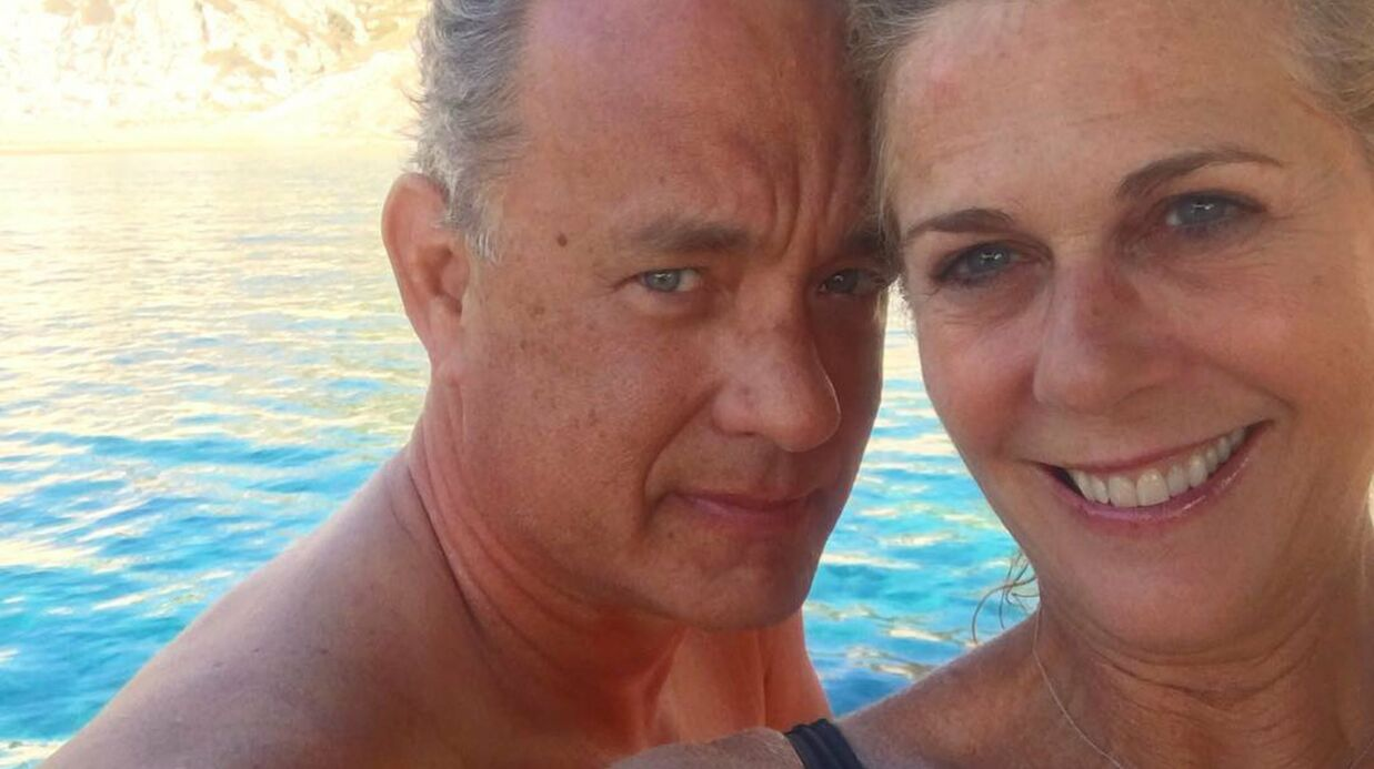 PHOTO Tom Hanks et Rita Wilson : 28 ans d'amour résu­més en un selfie
