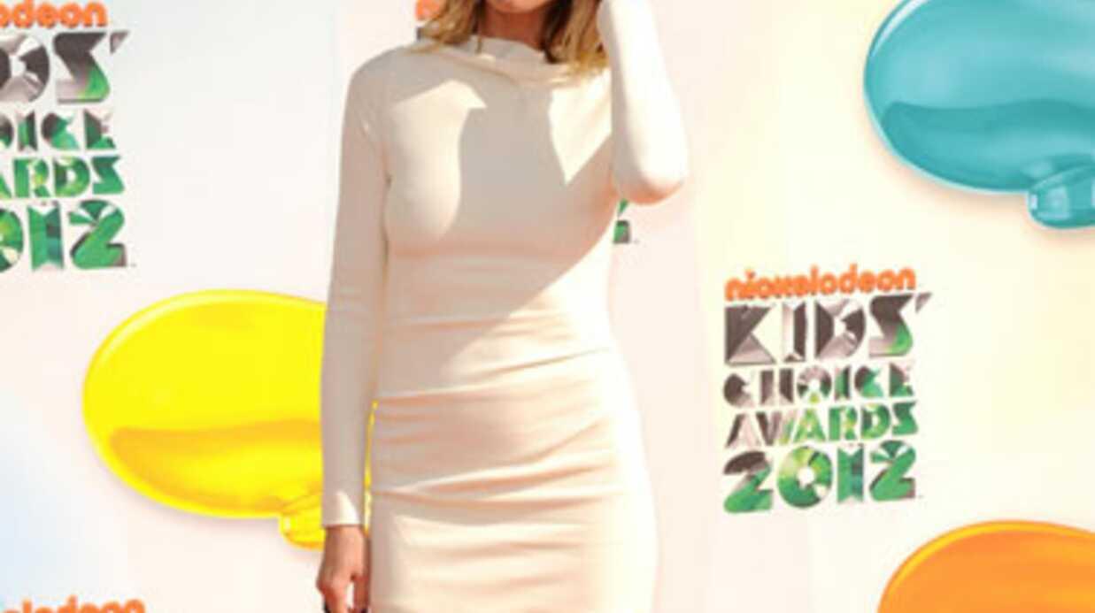 PHOTO Heidi Klum méconnaissable lors de son premier shooting