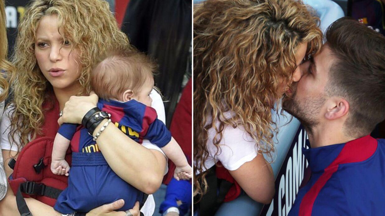 PHOTOS Shakira avec ses fils au stade pour supporter leur père, Gerard Piqué