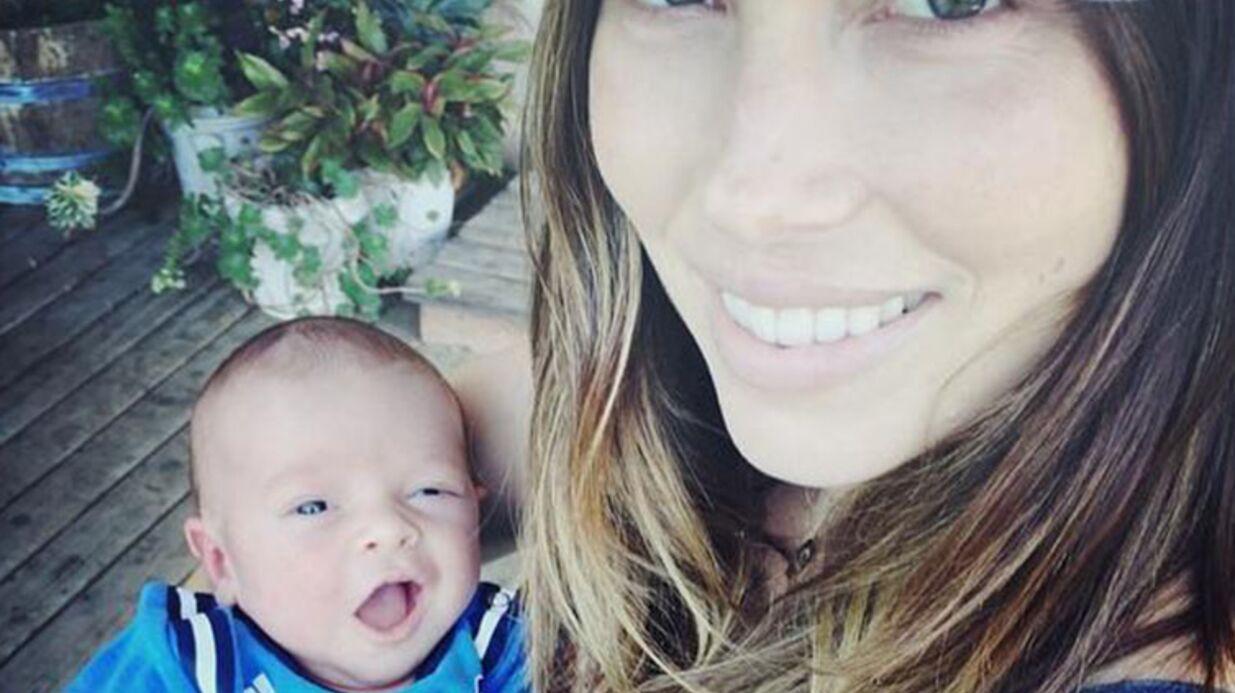 La première photo du bébé de Justin Timberlake et Jessica Biel
