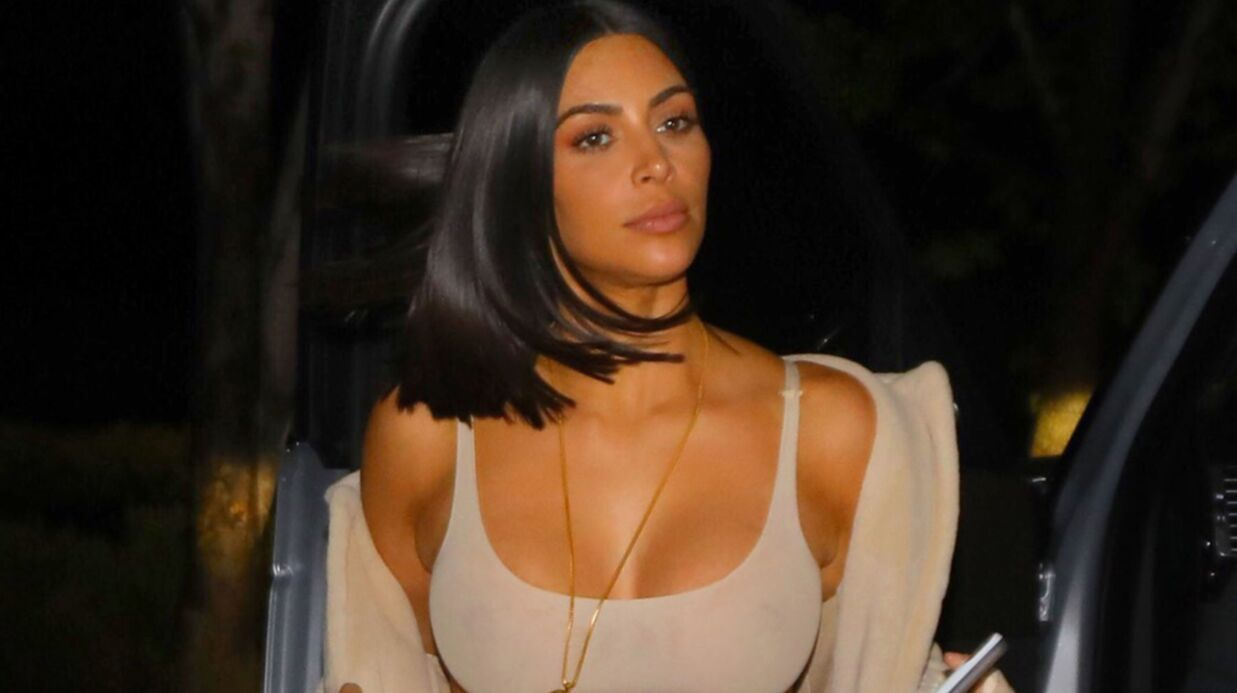 PHOTOS Kim Kardashian se dévoile entièrement dans un ensemble très transparent