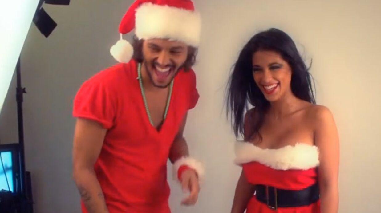 VIDEO Ayem et Daniel (Secret Story 5) en Mère et Père Noël