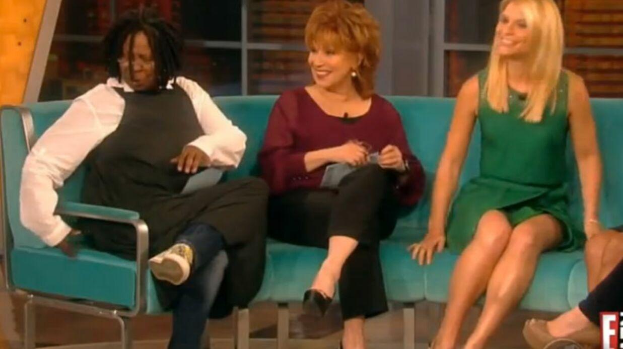 VIDEO Whoopi Goldberg: petit problème gênant en direct à la télé