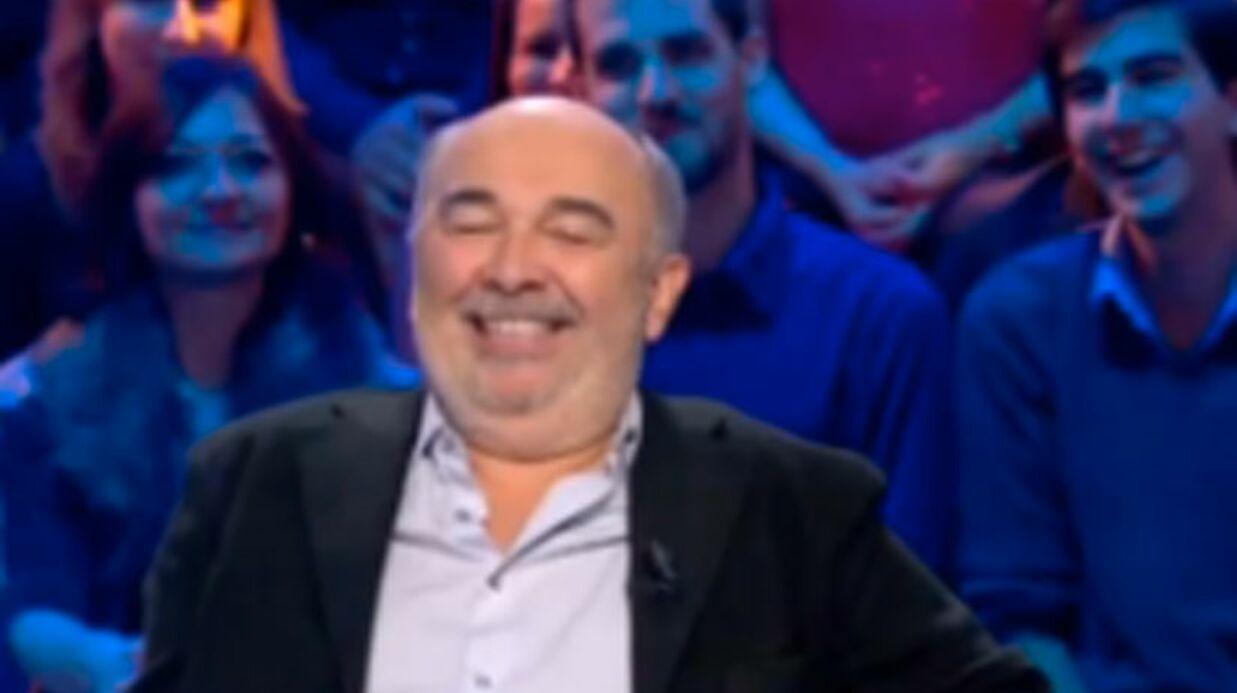VIDEO Gilbert Montagné découvre que Gérard Jugnot est chauve