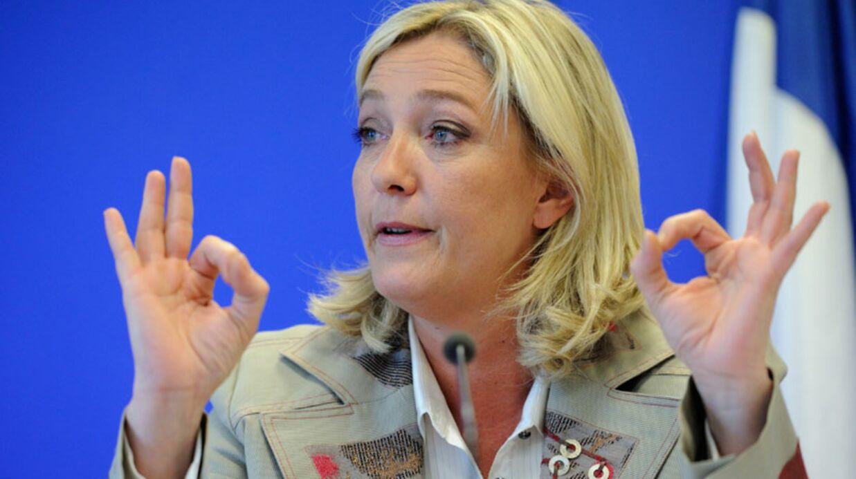 Marine Le Pen et Michel Drucker: c'est la guerre!