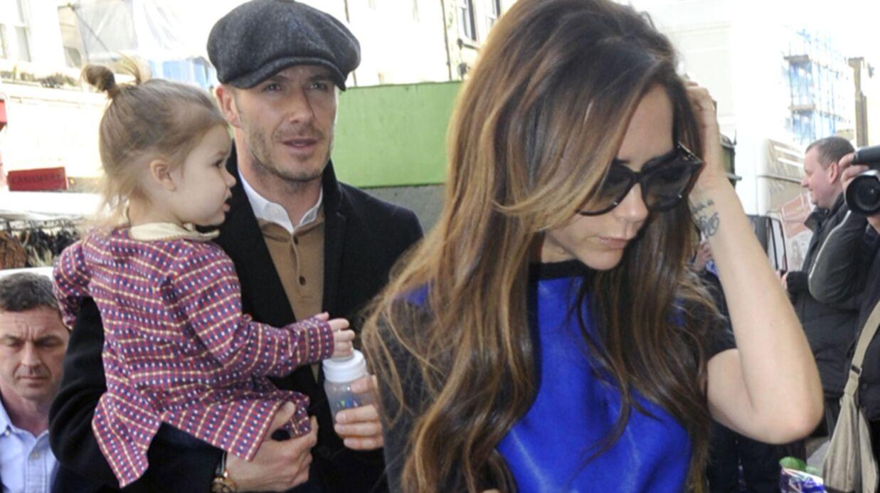DIAPO La première journée de la famille Beckham à Paris
