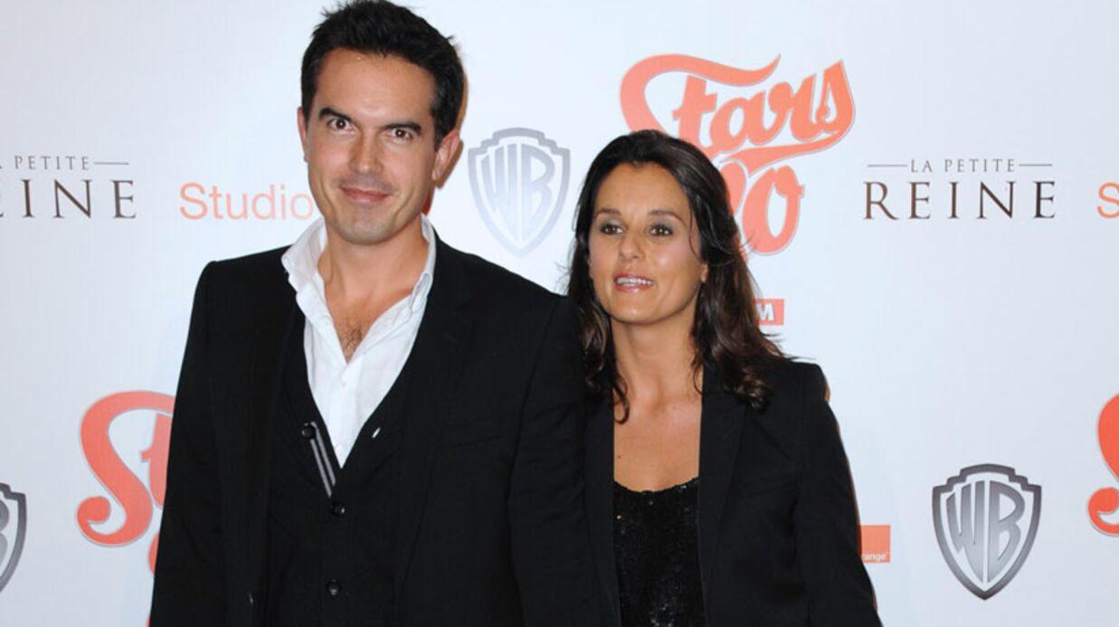 Faustine Bollaert et Maxime Chattam vont avoir un enfant