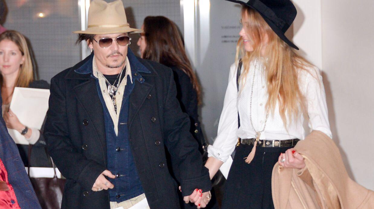 Johnny Depp et Amber Heard ont zappé l'étape lune de miel