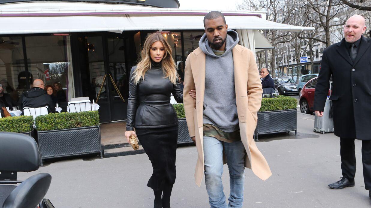 Kim Kardashian et Kanye West en repérage à Paris pour leur mariage