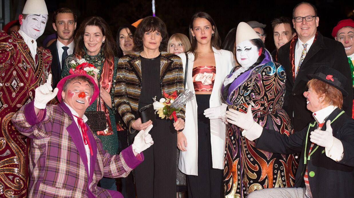 DIAPO La famille princière de Monaco réunie pour le Festival du cirque