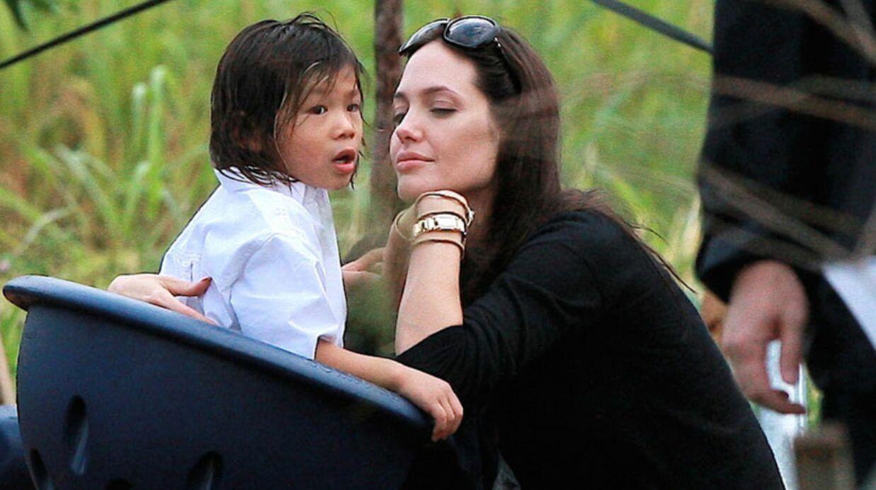 Angelina Jolie: ses enfants mangent des criquets