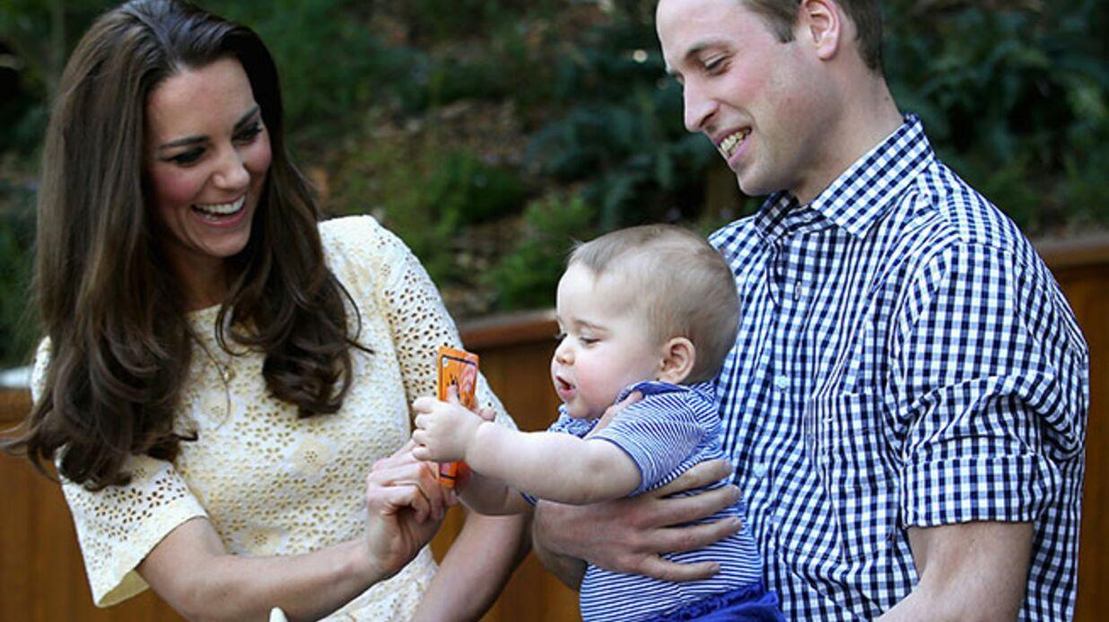 PHOTO Le prince George a fait ses premiers pas