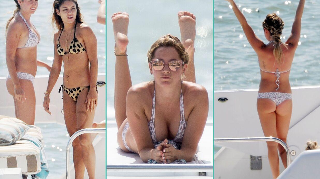 PHOTOS Ashley Tisdale et Vanessa Hudgens: leur week-end en bikini sur un yacht