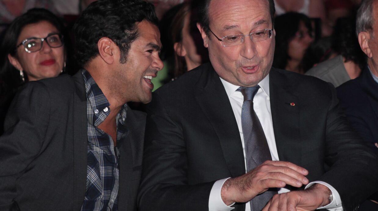 PHOTOS François Hollande assiste à la finale d'un tournoi d'impro avec Jamel Debbouze