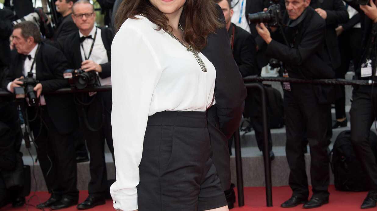 PHOTOS Cannes 2015: Zoé Adjani monte les marches 32 ans après le scandale de sa tante