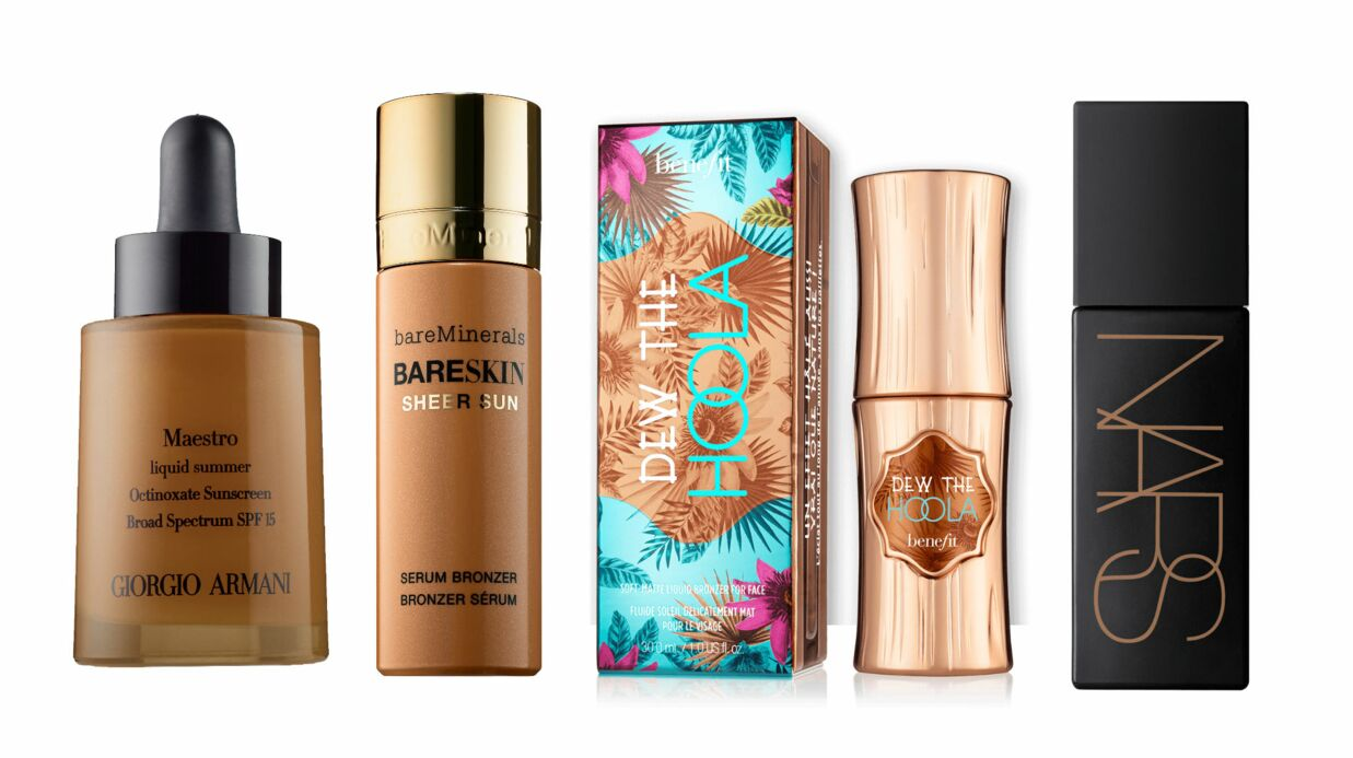 Tendance maquillage printemps-été 2016: les bronzers liquides