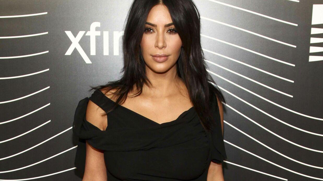 Kim Kardashian passe un test de grossesse en direct sur Snapchat