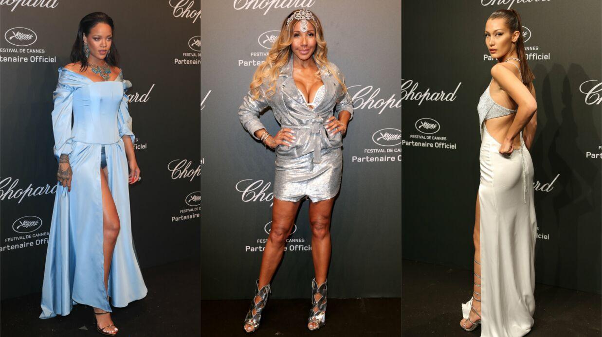 PHOTOS Cannes 2017: Rihanna montre sa culotte, Cathy Guetta ose le décolleté de la mort