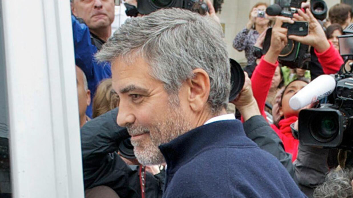 Les Obama couvrent George Clooney de compliments