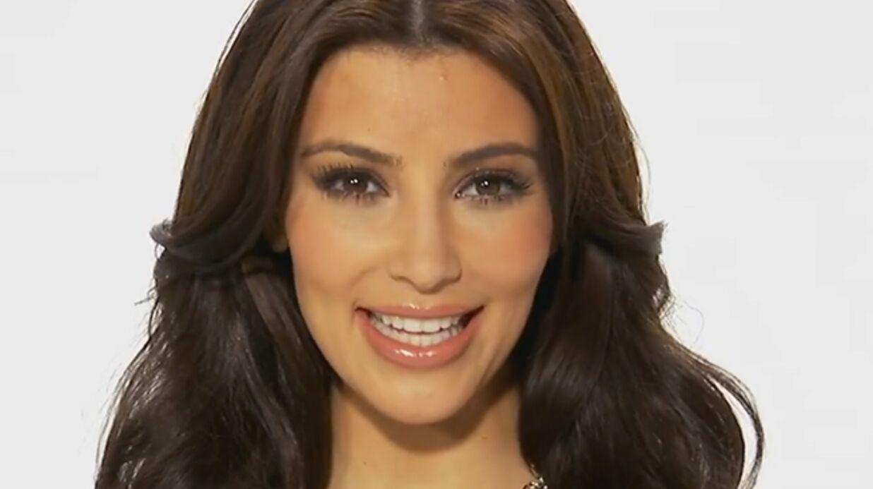 VIDEO Kim Kardashian méconnaissable, même pour ses proches!