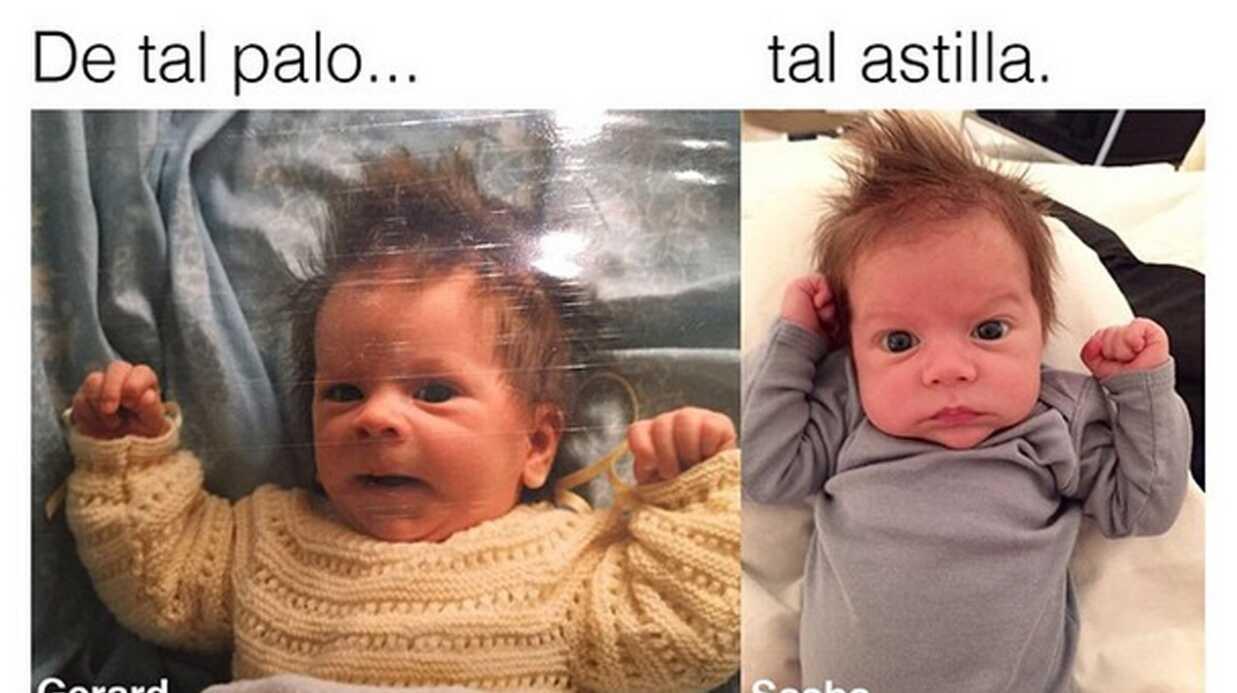 PHOTO Le deuxième fils de Shakira est le sosie de Gerard Piqué, et elle le prouve