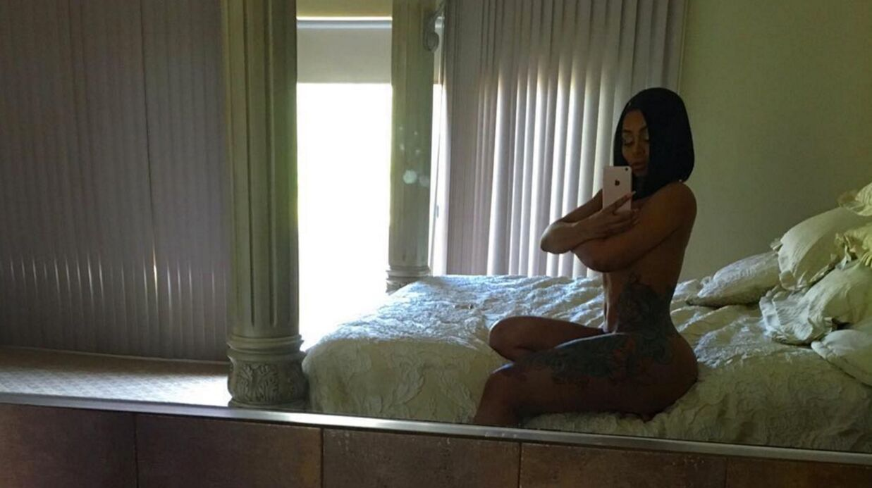 PHOTO Blac Chyna pose totalement nue sur Instagram