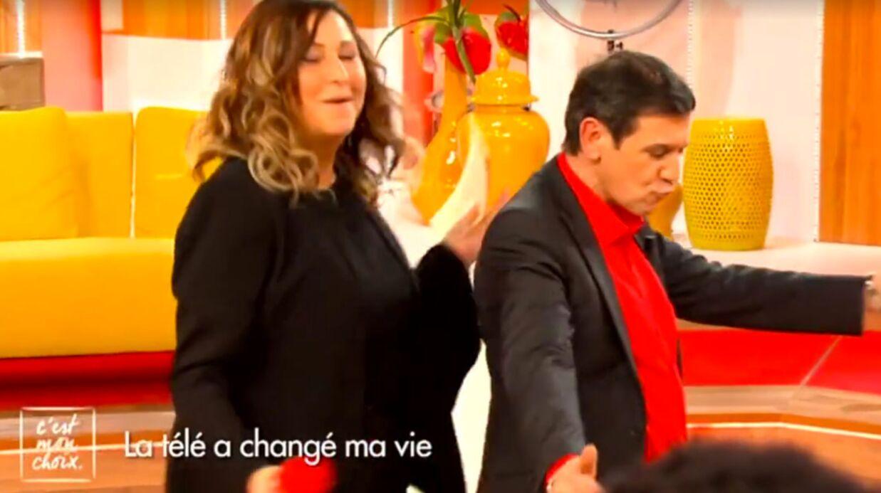 VIDEO Christian Quesada: le champion des 12 Coups de midi se déhanche avec Evelyne Thomas, c'est surprenant