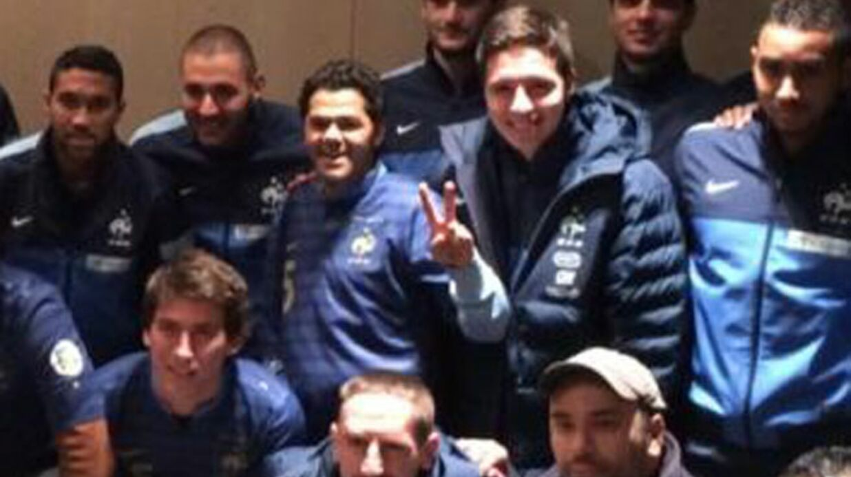 PHOTOS Les people à fond derrière les Bleus au Stade de France