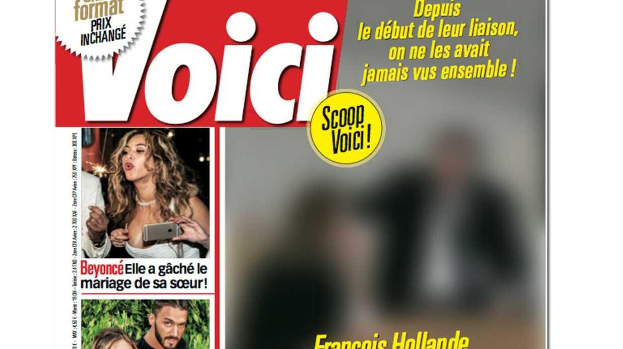 Scoop VOICI – Les premières photos de Julie Gayet et François Hollande à l'Elysée