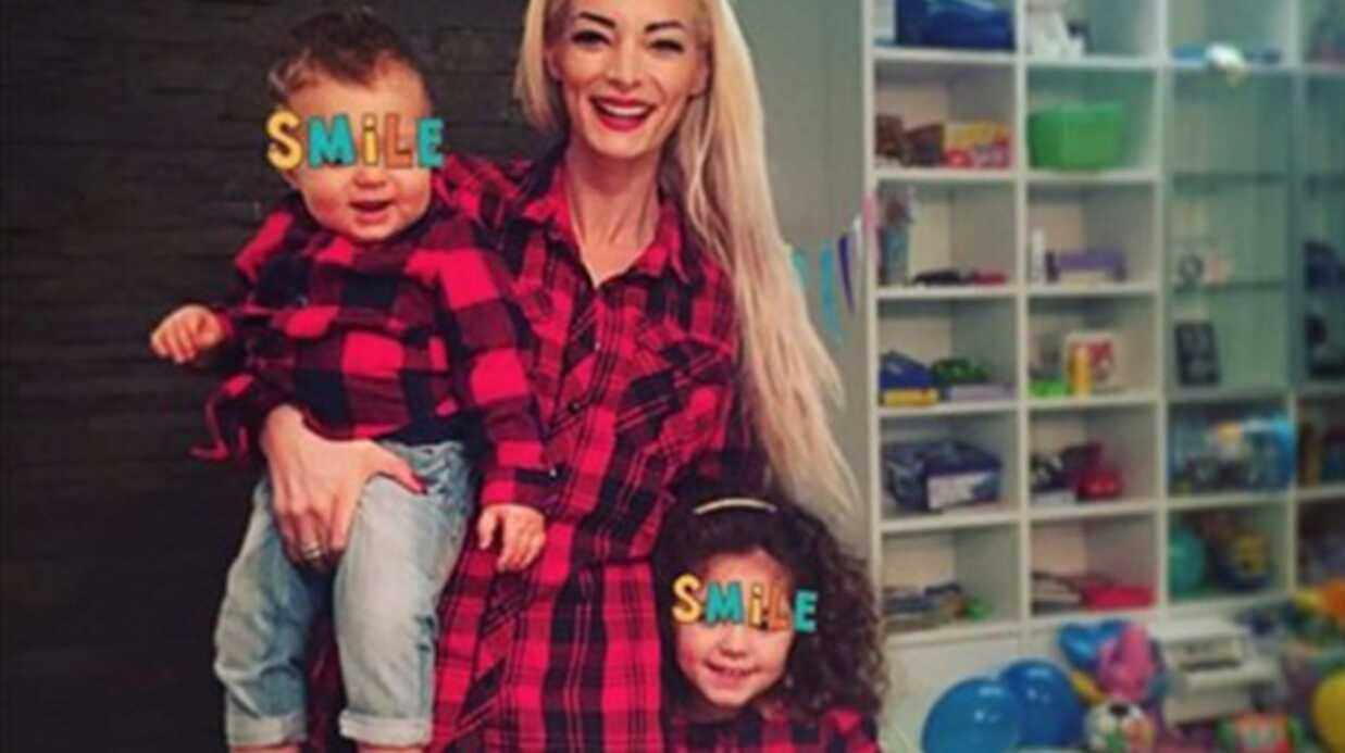 Emilie Nefnaf dévoile une photo de ses enfants pour le premier anniversaire de son fils