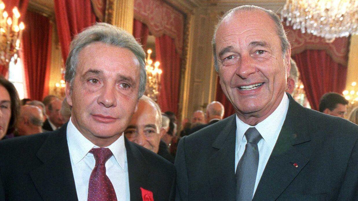 Comment Michel Sardou a trompé la vigilance de Bernadette pour faire plaisir à Jacques Chirac
