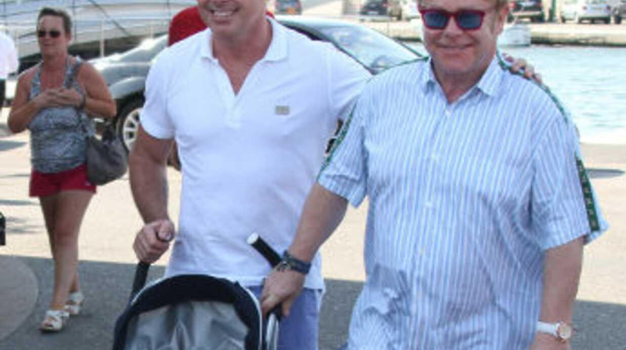 Elton John a peur que son fils soit confronté à l'homophobie