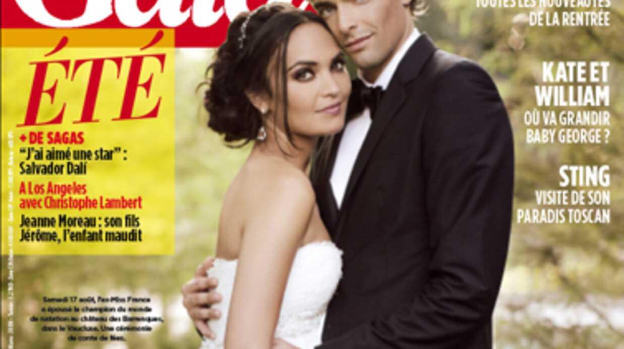 Camille Lacourt et Valérie Bègue: tous les détails de leur mariage hyper romantique