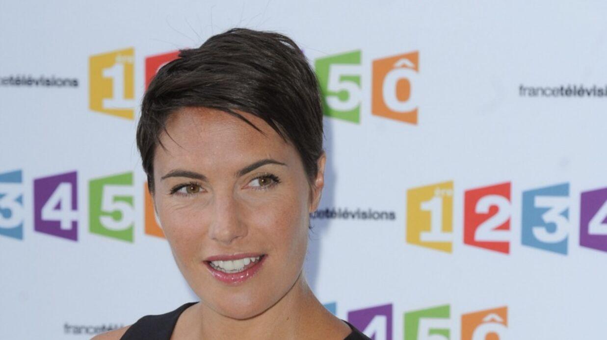 Alessandra Sublet met Twitter en émoi en oubliant son soutien-gorge