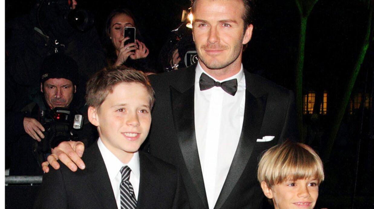 Les Beckham censurent une photo de leurs enfants torses nus