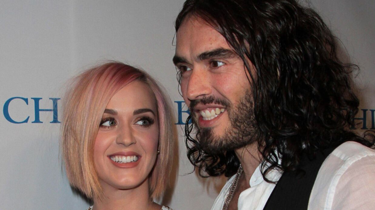 Katy Perry félicite Russell Brand pour son abstinence