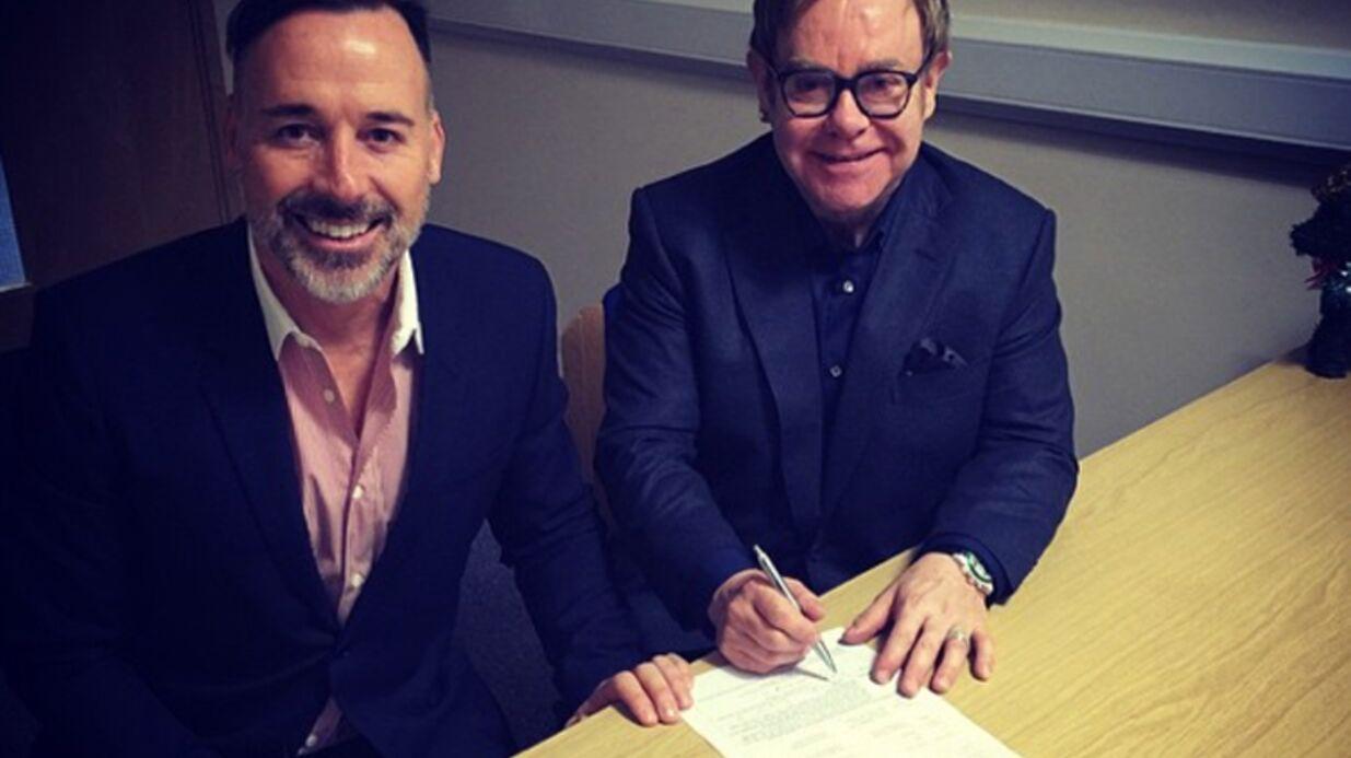 Elton John s'est marié avec David Furnish!