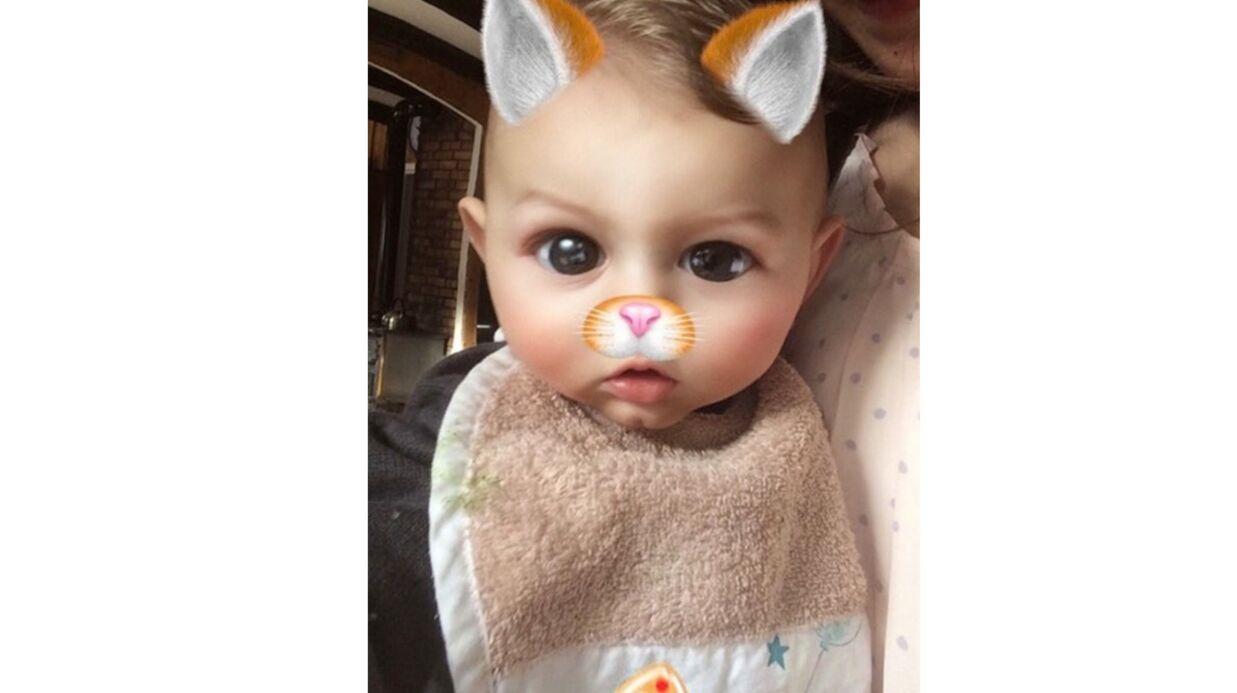 PHOTO Ingrid Chauvin publie une irrésistible photo de son fils Tom, et il a bien grandi!
