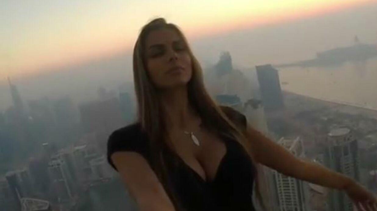 VIDEO Ce mannequin risque sa vie pour des photos, la police intervient