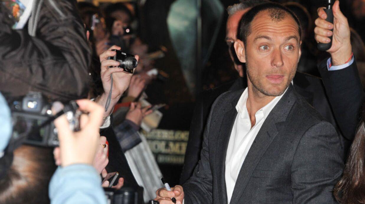 PHOTOS Jude Law chouchoute ses fans français