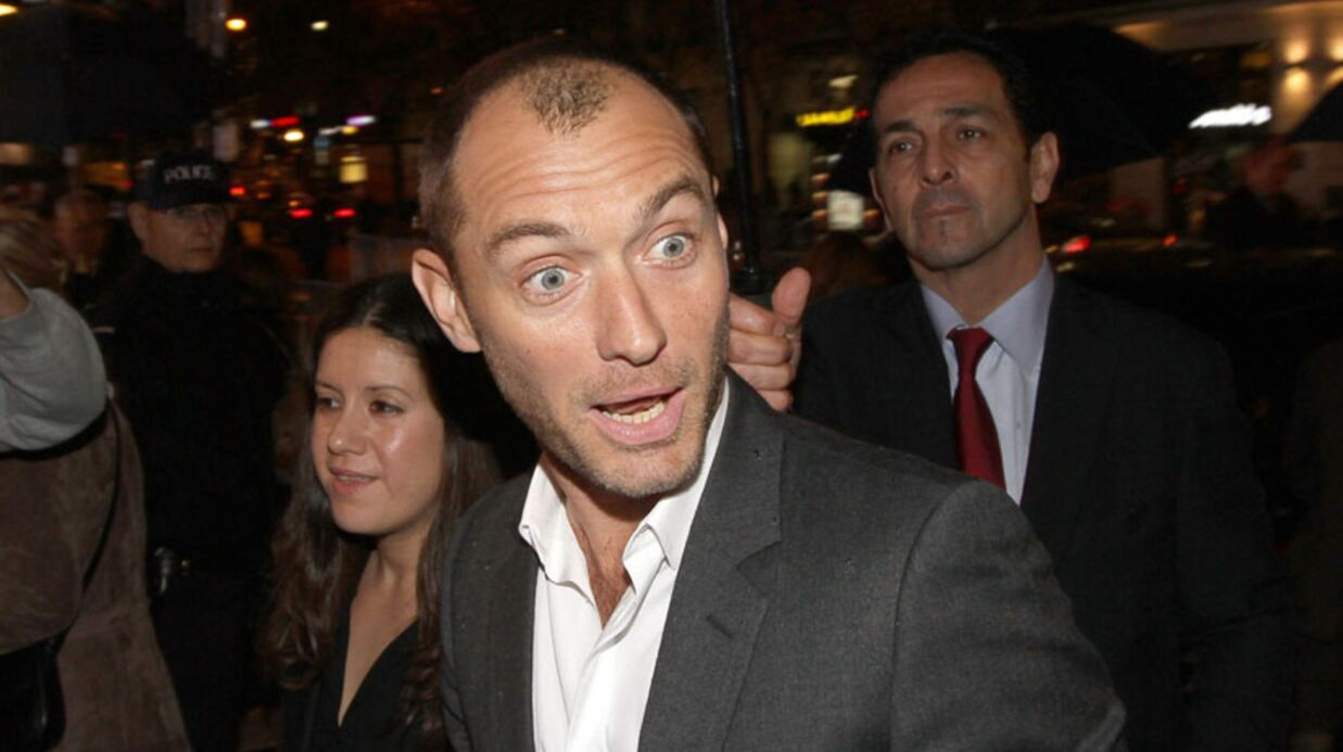Jude Law craque pour Mélanie Laurent