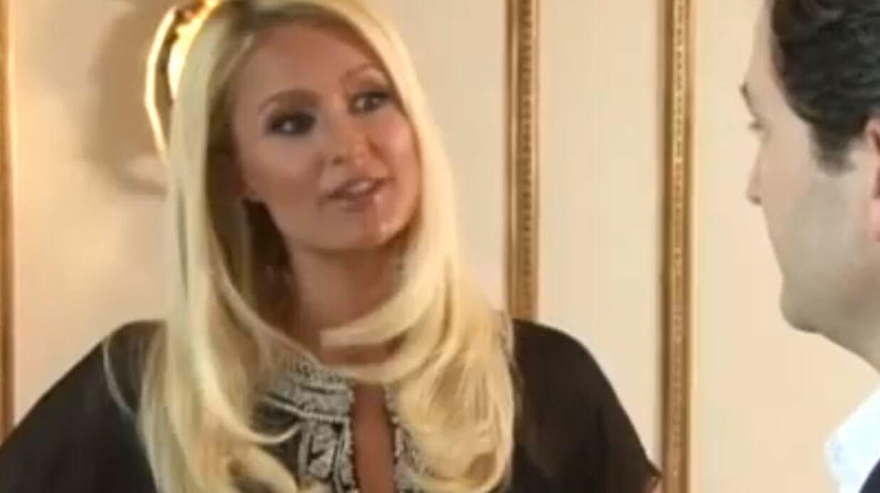 Paris Hilton: vexée, elle plante une interview