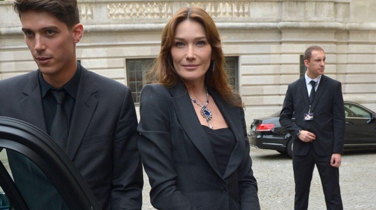 Julien Clerc et Carla Bruni parlent de leur amitié