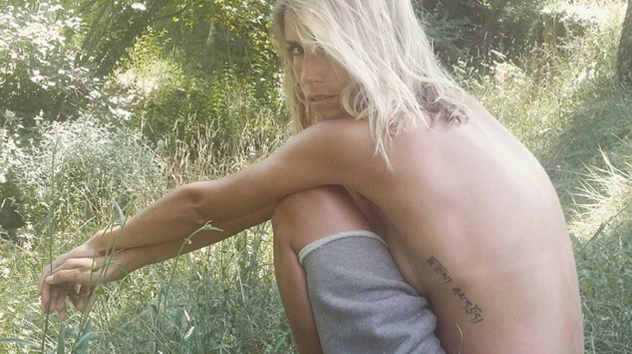 PHOTO Alexandra Rosenfeld topless dans les bois (parce que pourquoi pas)